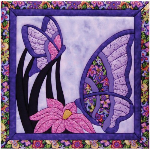 Quilt Magic 15-1/2-Inch by 15-1/2-Inch Butterfly Kit
