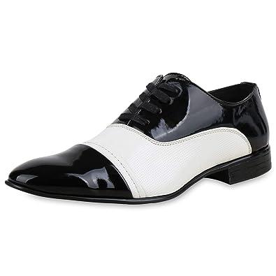 sneakers for cheap 453f5 bf40f SCARPE VITA Herren Business Schuhe Klassische Schnürer Lack ...