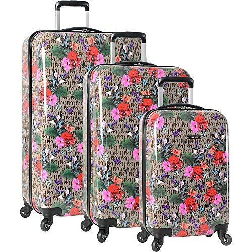 Nine West Luggage Outbound Flight 3 Piece Hardside Spinner Luggage Set (Paradise (Luggage West Nine Set)
