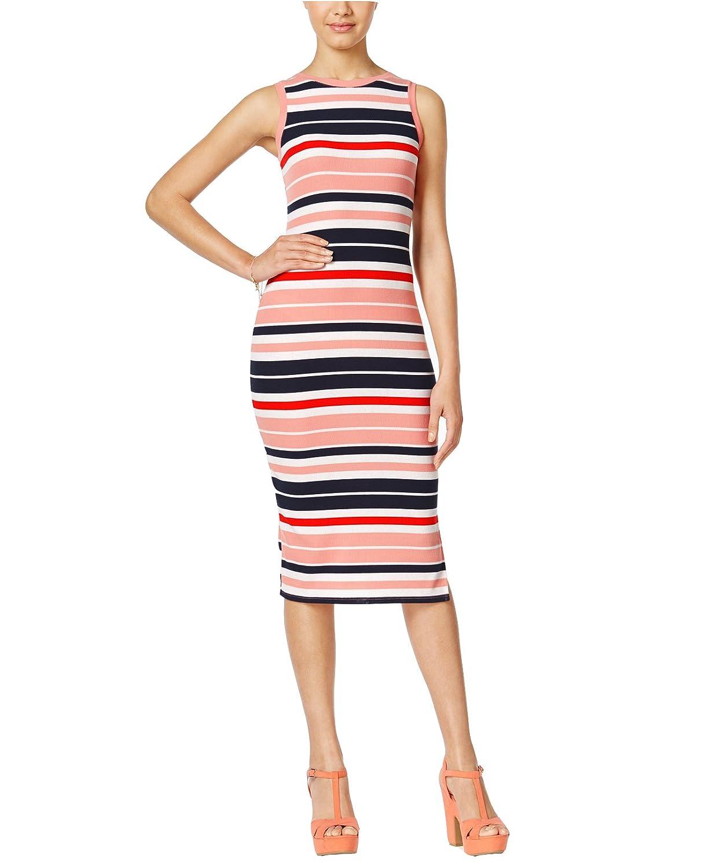 c335342e Ultra Flirt Juniors' Sleeveless Striped Midi Dress