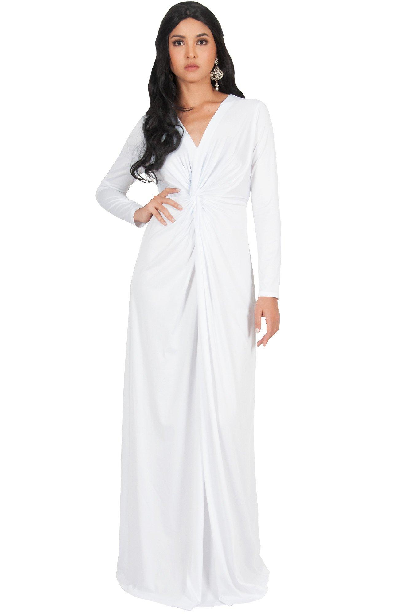 KOH KOH Womens Plus Size Womens Long Sleeve Sleeves V-Neck ...