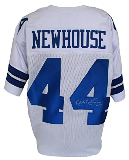 official photos d0790 c5355 Robert Newhouse #44 Signed Dallas Cowboys Jersey (SI COA) at ...