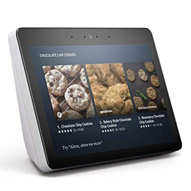 "Echo Show (2nd Gen) – Premium sound and a vibrant 10.1"" HD screen - Sandstone"