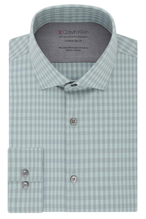 Calvin Klein 卡尔文克莱因 CK 超修身 男式长袖衬衫 2.9折$22.99 海淘转运到手约¥178