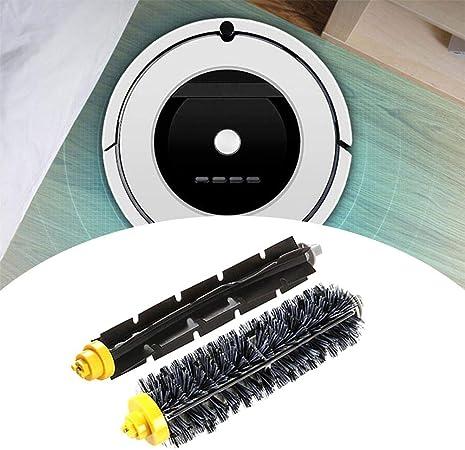 Cepillo de Repuesto WAustrious para aspiradora Robot IRobot Roomba 630/650/760/770/780 | Cepillo de Rodillo Fino y Suave Fabricado con Materiales específicos para el Suelo: Amazon.es: Hogar