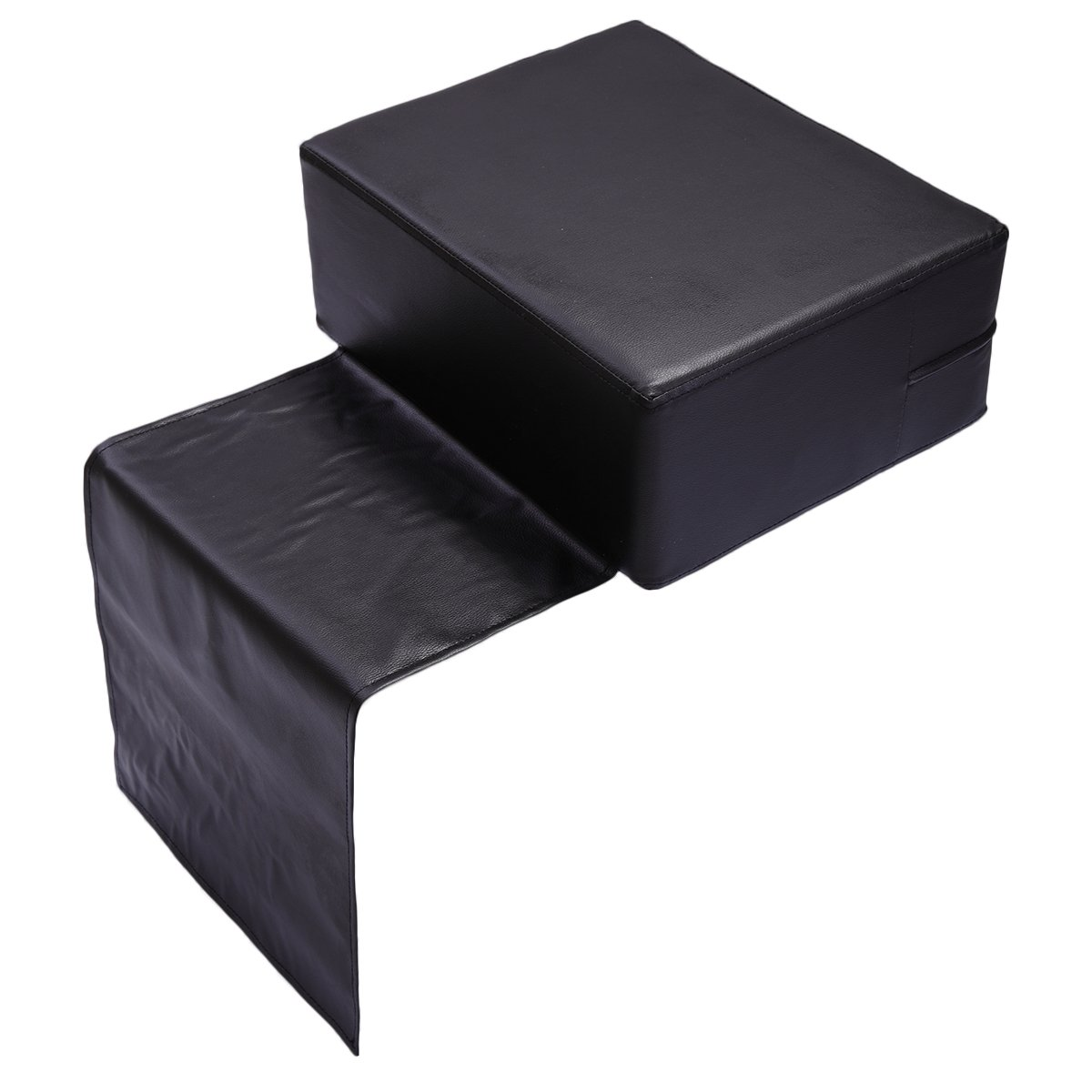 Tobbi Black Barber Beauty Salon Spa Equipment Styling Chair Child Booster Seat Cushion