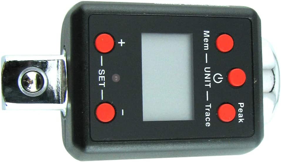 WISRETEC Digital Torque Adapter 1.5-1000NM Torque Wrench Five Torque Units Range, 1000NM