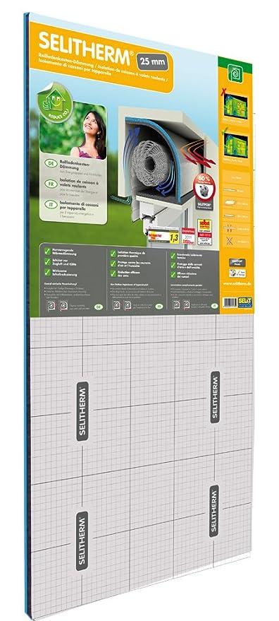 Selitherm - Aislamiento para caja de persianas (25 mm)