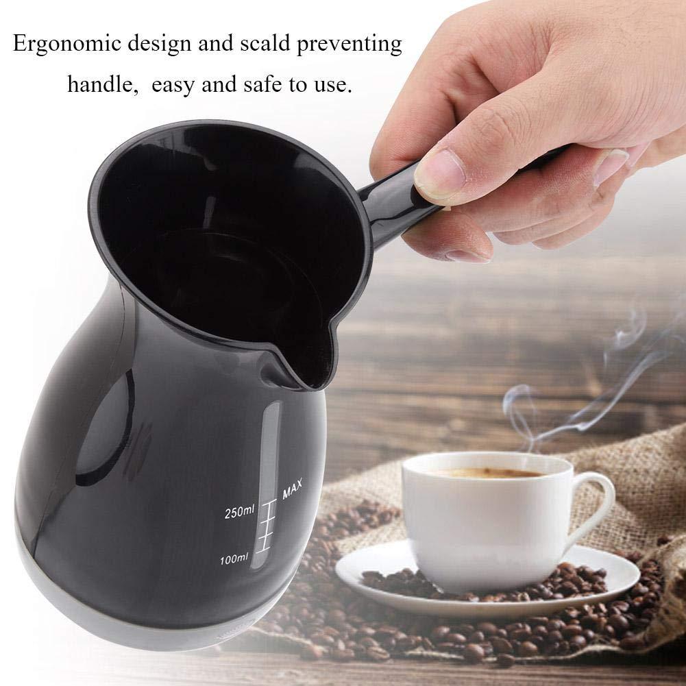 250 ml Cafetera turca el/éctrica para 1 o 3 personas