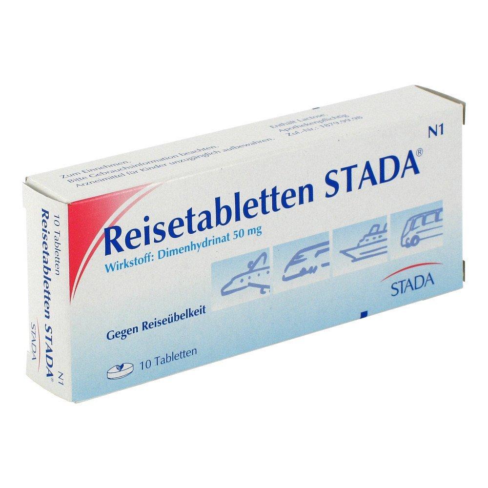 Reisetabletten STADA 50mg 10 stk