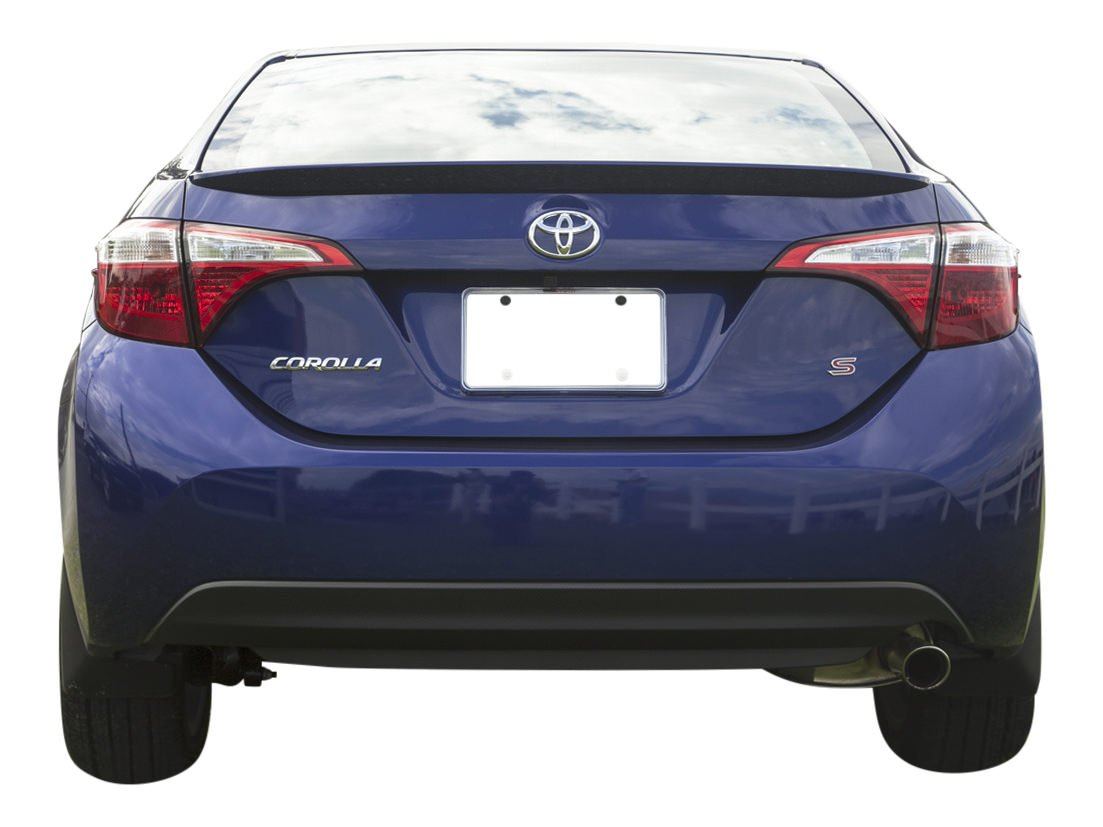 Factory Style Lip Spoiler made for the Toyota Corolla Painted in the Factory Paint Code of Your Choice 540 3R3 with 3M tape included