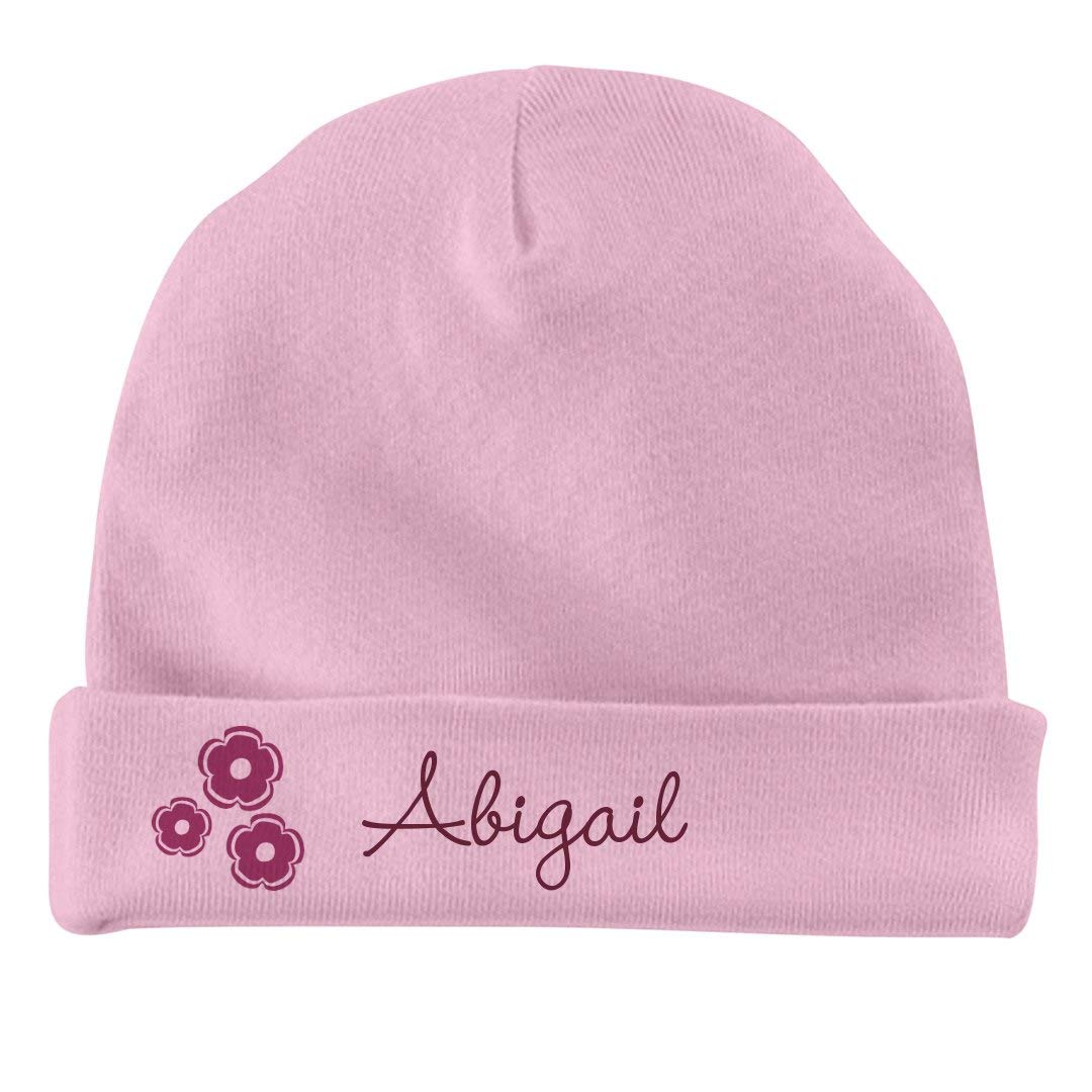 80c4d4c59 Amazon.com  FUNNYSHIRTS.ORG Baby Girl Abigail Flower Hat  Infant ...