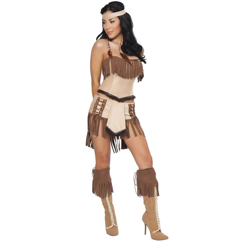 Indian Squaw Pocahontas Costume Ladies Sexy Fancy Dress Sexy 8 - 10 Amazon.co.uk Toys u0026 Games  sc 1 st  Amazon UK & Indian Squaw Pocahontas Costume Ladies Sexy Fancy Dress Sexy 8 - 10 ...