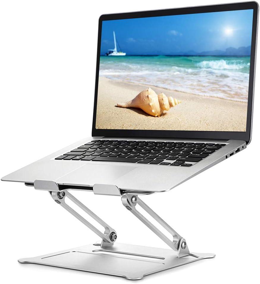 aluminium bross/é Macbook pro air non r/églable elevator Microsoft Dell pour bureau sans ventilateur compatible 13 pouces 15 pouces 17 pouces Support pc portable Rehausseur ordinateur portable