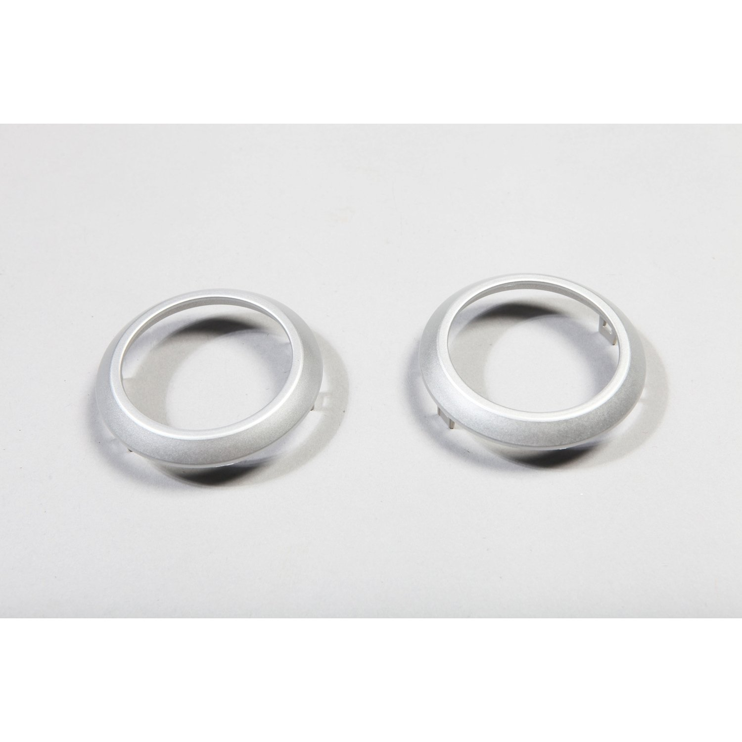 Rugged Ridge 11151.10 Brushed Silver AC Vent Trim Cover Pair