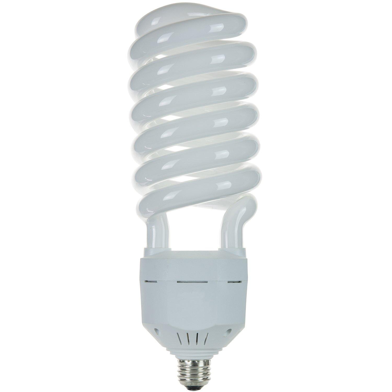 Sunlite SL105/50K/MED 105-Watt High-Wattage Spiral Energy Saving CFL Light Bulb Medium Base 120 Volt Super White