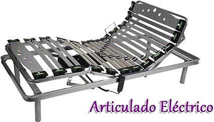 GrupoDiper - Somier Articulado Eléctrico 75X190: Amazon.es: Hogar
