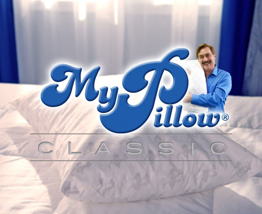 TWO My Pillows - Queen - Choose Firmness - 10 Year Warranty.