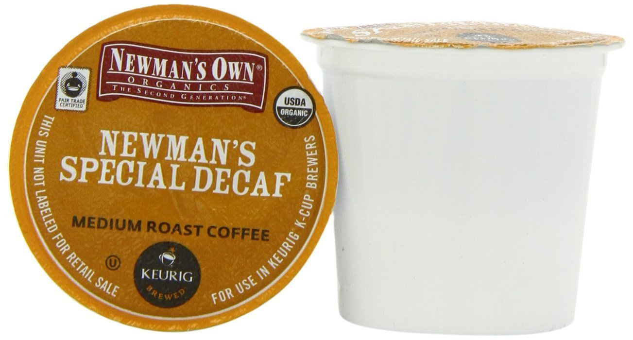 Newman's Own Organics Special Decaf 72ct (4 Pack of 18)