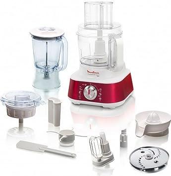 Moulinex Masterchef 8000 1000W 3L Rojo - Robot de cocina (3 L, Rojo,