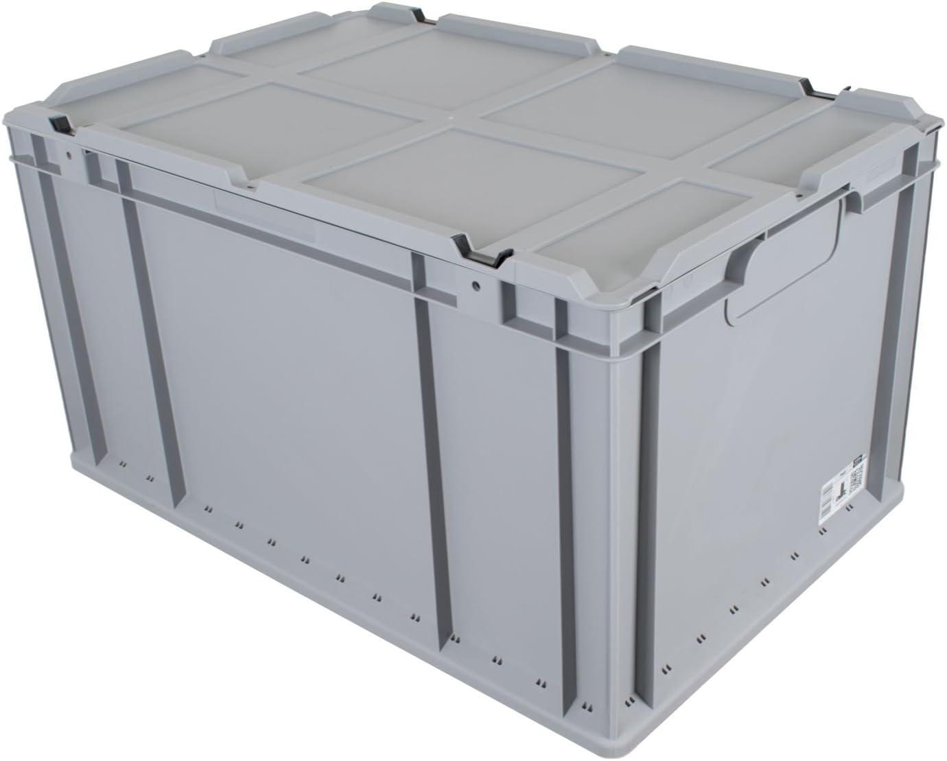 palé Euro Cajas 24 unidades 600 x 400 x 320 mm + Tapa Euro Caja ...