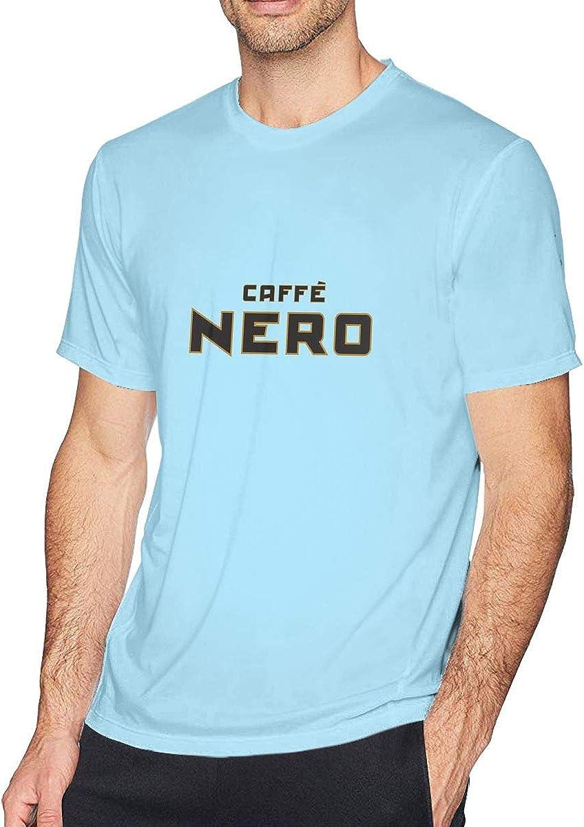 Camiseta clásica de Manga Corta para Hombre, Color Blanco Azul Azul Celeste XL: Amazon.es: Ropa y accesorios