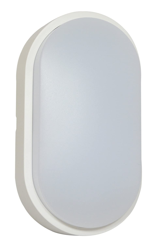 Tibelec 341910 - ojo de buey LED oval, plástico, 10 W, color blanco, 60 x 12 x 212 mm: Amazon.es: Iluminación
