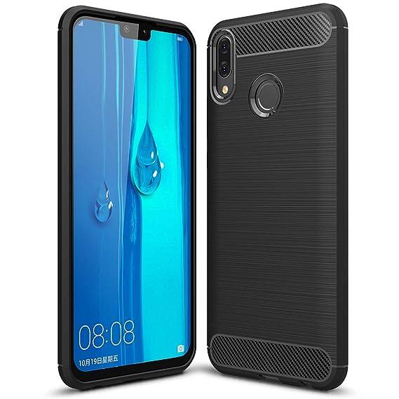 Amazon.com: Huawei Y9 2019 Funda, a prueba de golpes ...