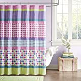 Oversized Shower Curtain Mizone MZ70-366 Mi Zone Katie Shower Curtain 72x72