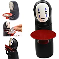 Osmantspice No-Face Piggy Bank Toy Banks No-face Man Electric Doll with Music Piggy Saving Coin Bank Eat Coin Machine