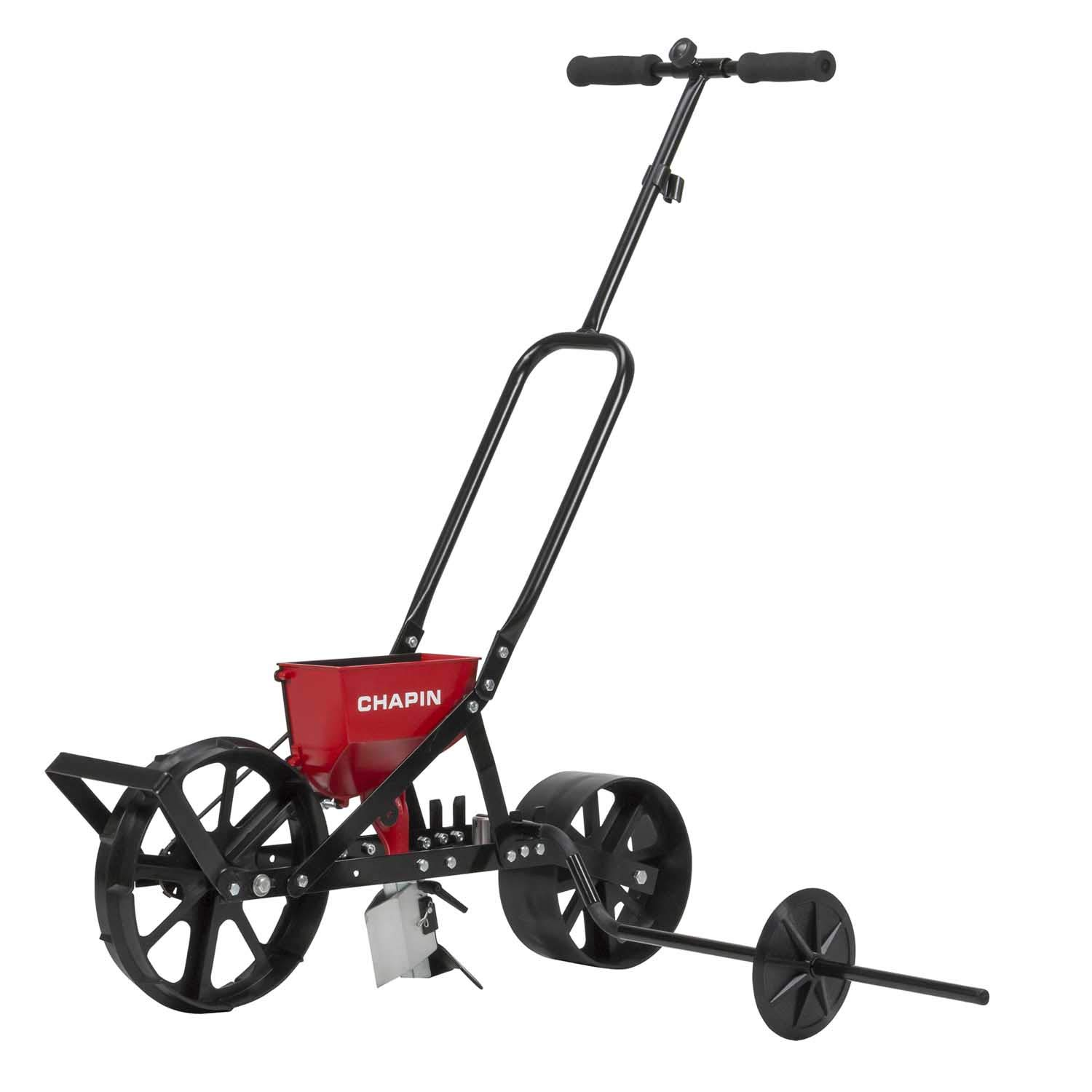 Chapin 8701B Garden Push seeder With 6 Seed Plates for Up to 20 Varieties Of Seeds, (1 Garden Seeder/Package) by Chapin International (Image #1)