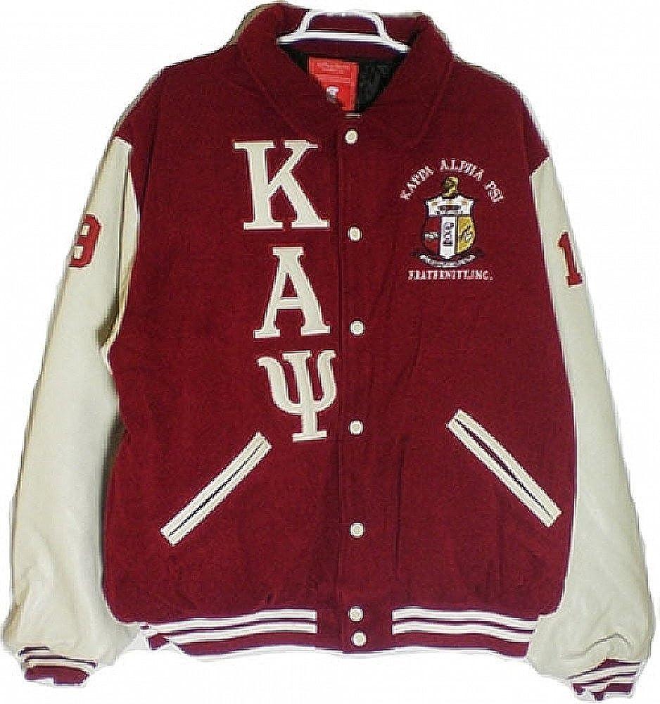 8a9c8eb91 Amazon.com: Buffalo Dallas Kappa Alpha Psi Mens Varsity Jacket: Clothing