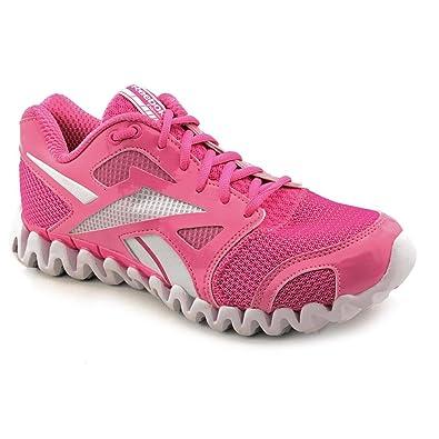 5ce53cd96f4b Reebok ZigNano Fly 2 Womens Pink Mesh Running Shoes New Display UK 2.5   Amazon.co.uk  Shoes   Bags