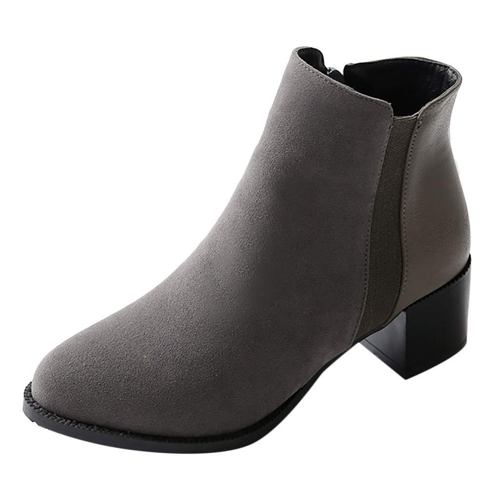 Women's Darcey Starburst Block Heel Ankle Boot with Pearls Women's Jezebel Ankle Bootie Boot Women's Ankle Booties Gray by Dunacifa Women Shoes