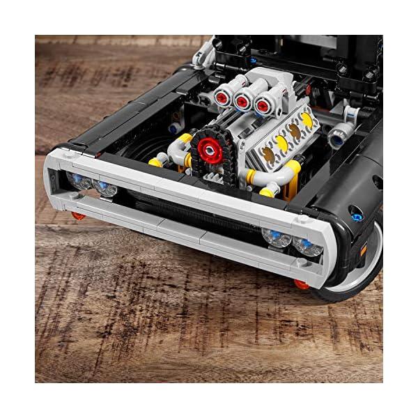 LEGO Technic Dom's Dodge Charger per Ricreare le Scene di Fast and Furious, Avventure ad Alta Velocità, Idea Regalo per… 5 spesavip