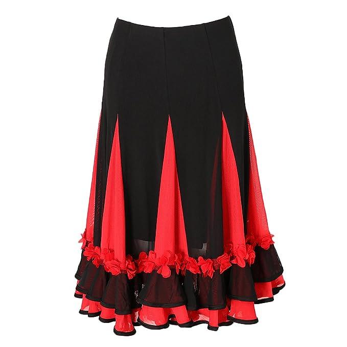 non-brand Sharplace Falda Baile de Salón Vestido Fiesta Traje Práctica poliéster Accesorios de Chica
