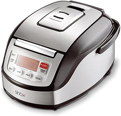 Sinbo SCO5040 - Robot de cocina (860 W, tecnología de conservación de temperatura 3D, 5 L, acero inoxidable): Amazon.es: Hogar