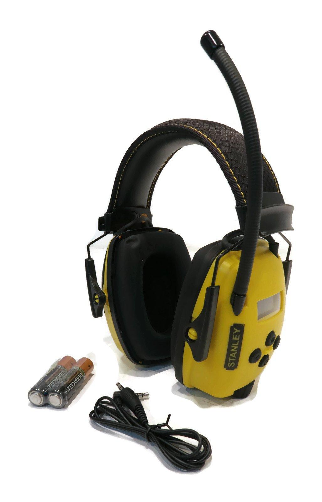 Stanley Sync Digital AM/FM/MP3 Radio Earmuff (RST-63012) by Stanley (Image #1)