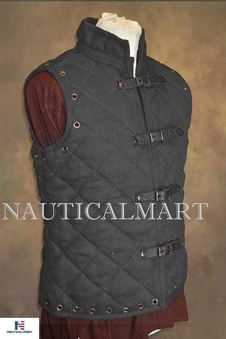 Amazon.com: Nauticalmart Gambeson chaleco disfraz de ...