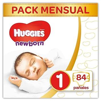 Huggies Newborn Pañales Recién Nacido Talla 1 (2-5 Kg) - 84 Pañales ...