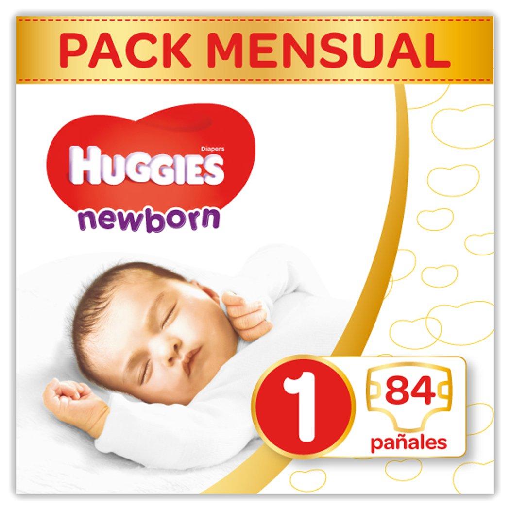 Huggies Newborn - Pañales Recién Nacido Talla 1 (2-5 kg) - 84