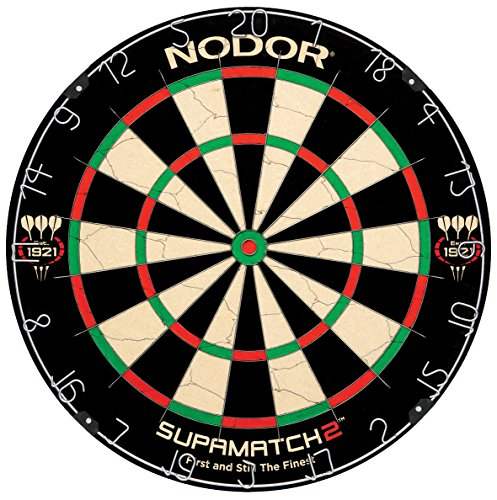 Nodor SupaMatch2 Bristle Dartboard by Nodor