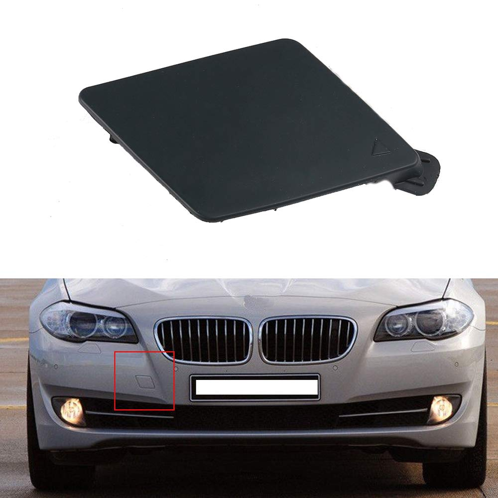 UPSM Front Bumper Tow Hook Cover Cap 51117246868 Fit for BMW x5 F10 F11 F18 2011 2012 2013 Front Bumper Tow Eye Cover