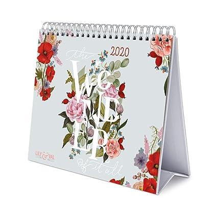 ERIK - Calendario de Escritorio Deluxe 2020 Lily & Val ...