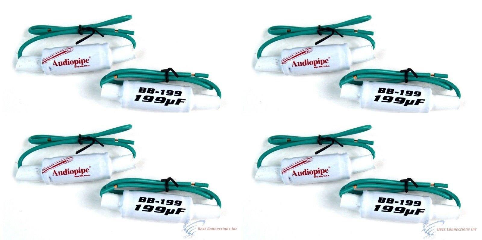 BB-199 6 x 9'' 6 x 8, 7 10'' 199 UF Bass Blockers 200Hz @ 4 OHM 8 PCS by Audiopipe