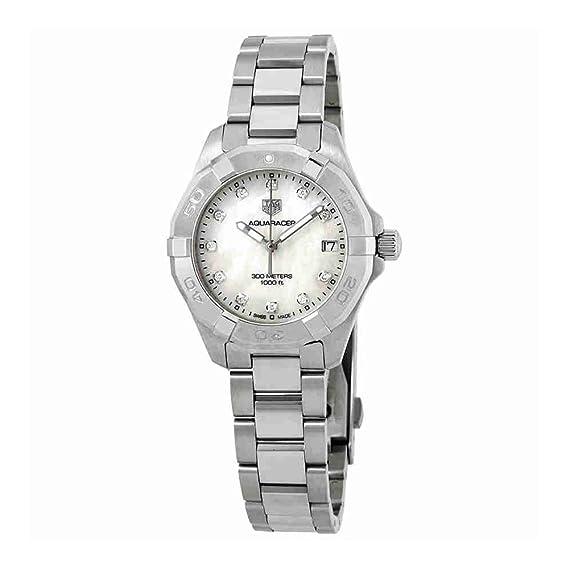 Tag Heuer WBD1314.BA0740 - Reloj de pulsera para mujer con esfera de diamante de