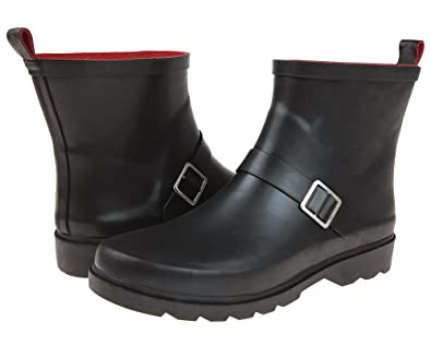 Amazon.com | Capelli New York Women's Matte Solid Rain Boot w ...