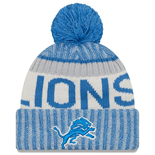 Broncos Stocking Hat: Detroit Lions Pom Hat, Lions Hat With Pom, Lions Pom Beanie