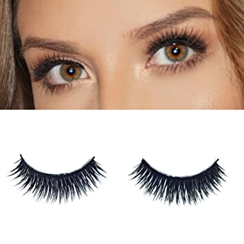 Milanté Beauty Foxy Double Layer False Lashes Vegan Black Natural Thick Long Full Reusable Fake Strip
