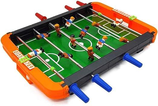 WCJ FUTBOLIN Game- Fútbol Juguetes de Campo -niños y Adultos futbolín Mesa de Juego de fútbol Set-Sala de Juegos Familia de Noche Sticks 6 Reproducción: Amazon.es: Hogar